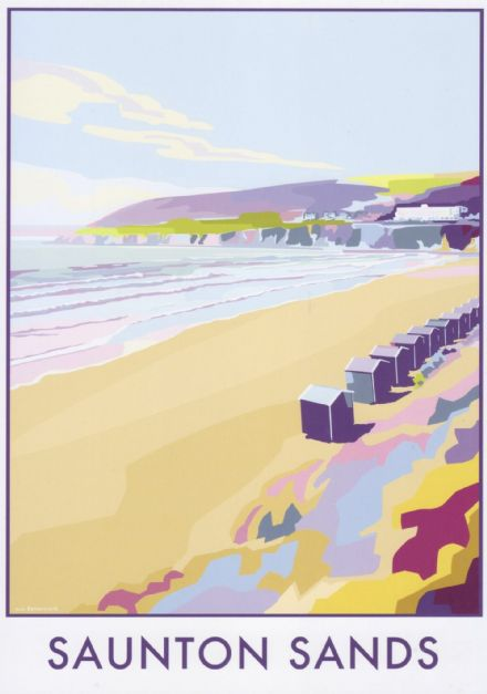 'Saunton Sands'  Available in A4/A2 Size Print from...